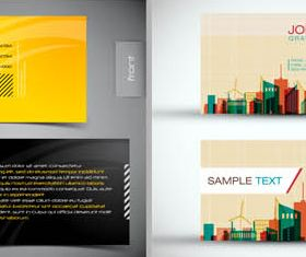 Business Cards free 2 vectors graphic