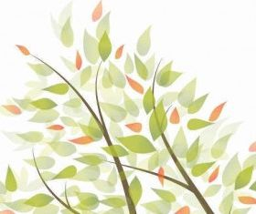 Green Leaves Graphic Background vectors