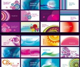 classic 40 kinds cards vector graphics