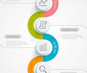 Infographics Backgrounds 48 vector