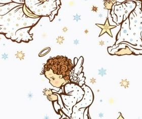 cartoon angel vector graphics