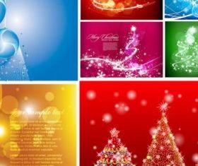 flash christmas vectors material