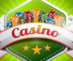 Casino Backgrounds 2 design vectors