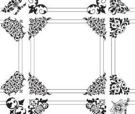 Ornamental Frames 2 vector