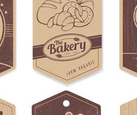 Bakery Labels and Stickers Illustration vector