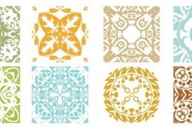 Floral Patterns free vector
