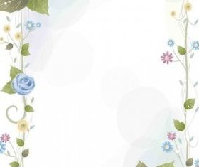 Flower Background graphic shiny vector