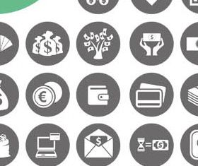 Finance Icons free vector