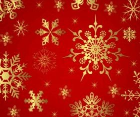 Snowflake pattern free Illustration vector