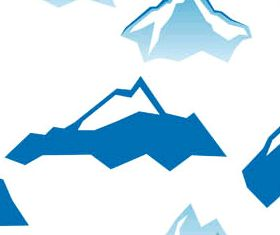 Abstract Mountains Logo 2 vector