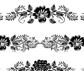 Floral Borders free vector