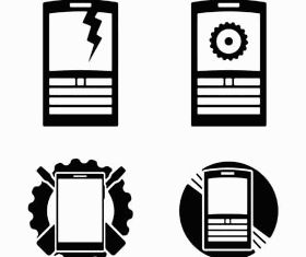 Modern Communications Icons vector