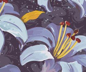 Floral Backgrounds 25 design vector