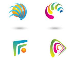 Abstract Logo graphic vectors