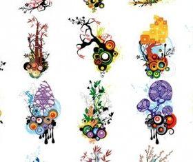 Floral Designs Graphic vector