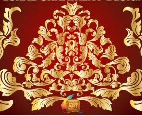 Floral Ornament Design vector graphics