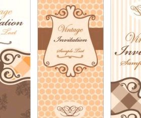 european pattern background 01 design vector