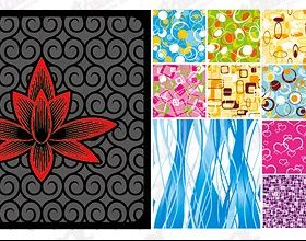 fashion pattern tiled background Illustration vector
