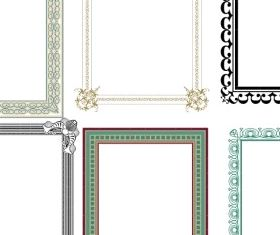 Artistic Frames 2 vector material