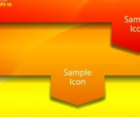 color label 04 vector