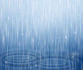 Blue raindrops Background Illustration vector