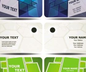 technology business card template 01 vectors graphic