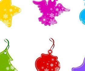 Christmas Price Tag design vector