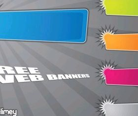 Web Banners graphic vector