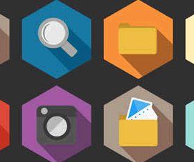 Flat Icons free 2 vectors