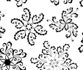 Floral Ornament Elements Mix 10 vector