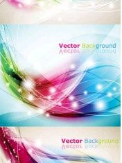 Colorful Abstract Backgrounds vectors graphic