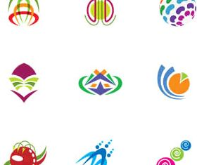 Abstract Logotypes graphic vectors