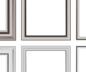 Wooden Frames free vector