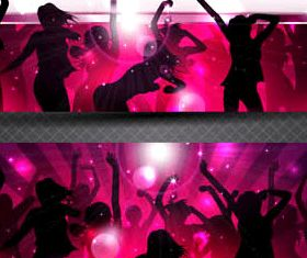 Party Banners graphic vectors