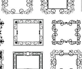 Decorative Vintage Frames 25 vector