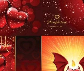 heartshaped background pattern vector