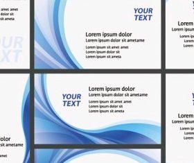 fashion card vector material