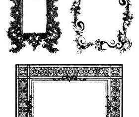 Fancy Frames and Ornate Borders 2 vector
