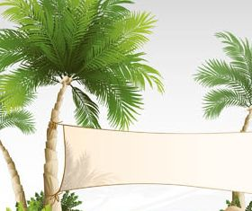 Backgrounds with Beaches 2 vectors