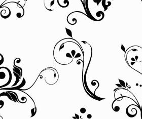 Floral Ornament Elements Mix 9 vectors graphic