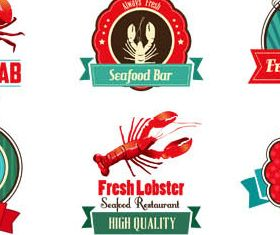 Fish Labels free vector graphics