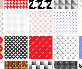 Swatch Patterns graphic vector