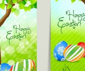 fresh Easter material vectors