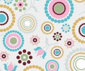 Retro Pattern Background vector design