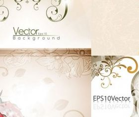 elegant background pattern vector