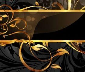 gold pattern vectors