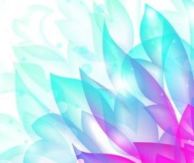 Dream Flower Background vector