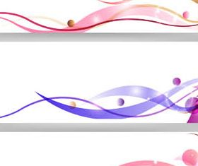 Floral Banners free vector