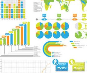 Business Different Elements vectors material