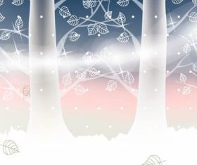 Winter Landscape vector graphics